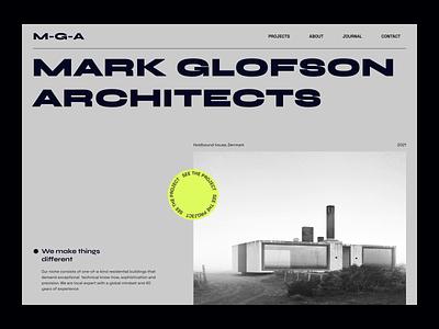 Architecture agency website website creative concept architecture agency architecture agency 2d ux animation app design app design ui