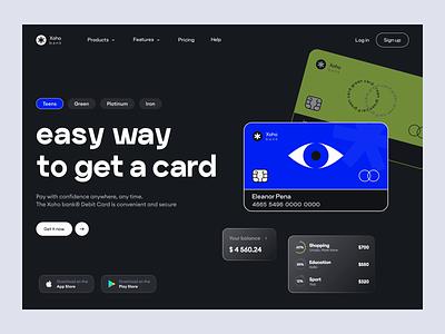 Finance. Banking App Design concept financial app design app bright brutalism animation credit cards bank banking app finance ux ui app design 2d