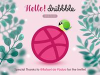 Hello, Hello, Dribbble!