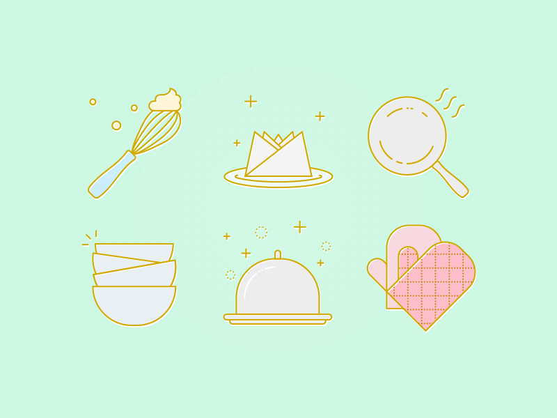cooking icons cook icons set icons icon design vector illustration