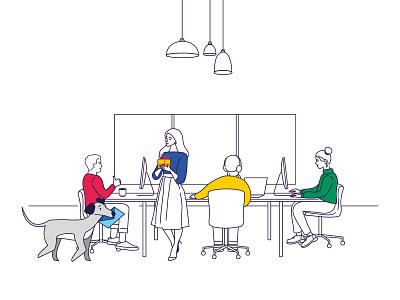 Illustrations for packaging illustration