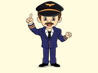 have an idea pose pilot mascot