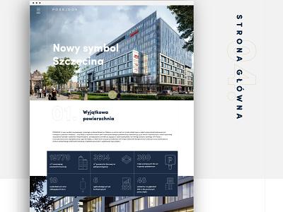 Posejdon - New Stettin's symbol so fine agency szczecin stettin posejdon design illustration web branding typography