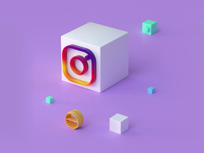 Insta Roll motion rolling cube geometric cubic video logo animation pink instagram satisfying loop motion graphics animation render logo c4d cinema4d motiondesign composition 3d