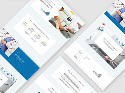 Healthcare Services Navigation Made Easy simple navigation croatia minimal ui ux design