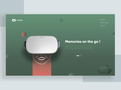 Homepage presentation