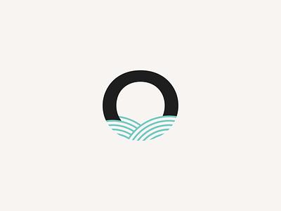 Ocean Logo Design identity wave ocean graphic design vector logotype branding brand logo