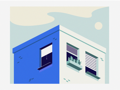 House windows window house flat design flat 2d illustration design design illustration illustrator
