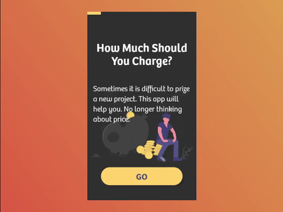 Freelance project prices calculator