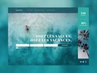 Website design   Tourism