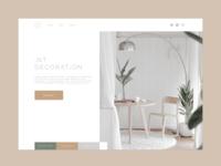 Website design   Interior decoration