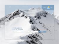 Website design | Ski holidays