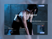 Website design   Fitness program