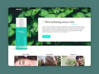 Website design | Cosmetics
