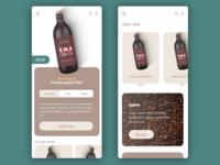 App design | Coffee
