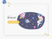 Website design | 404 error page