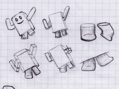 Character Thumbnails - Revised Gesture
