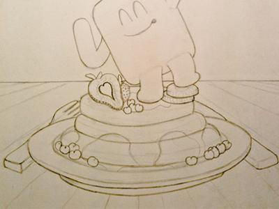 Pancake Character - Outline Draft