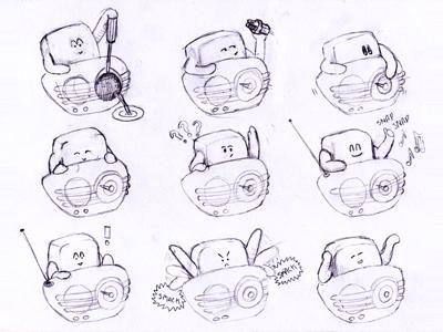 Radio Character Thumbs