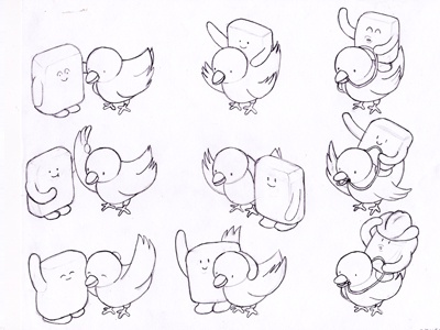 Twitter Character Thumbs