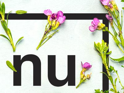 Logo Nuance brand graphics illustration logotype design graphic plants flowers typography