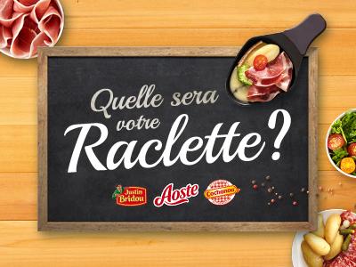 Raclette logo typography web wood brand branding design logo food