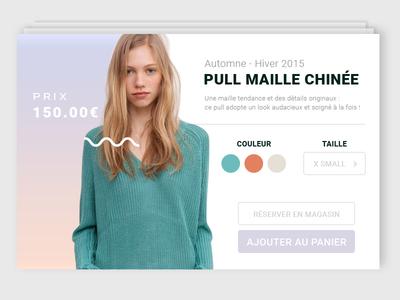 Shop  product website minimal fashion ux ui shop e-commerce clean design web