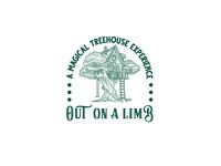 Vintage Tree House Hand Drawn Logo