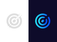 Abstract C Letter Mark