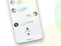 Audio chat app