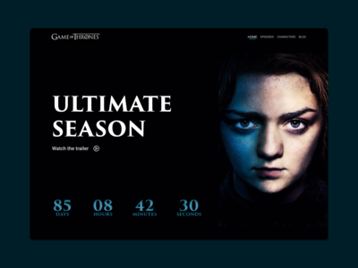 Game of Thrones countdown ⏳