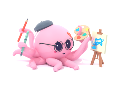 Artist Octopus