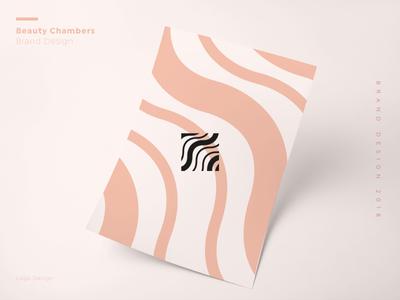 Beauty Chambers Copy design graphic logo branding