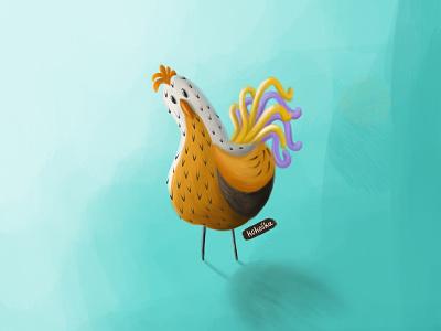Chicken - 3 crtanje ilustracija chicken procreate illustrator illustration drawing