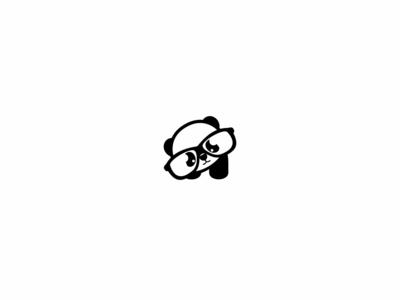 cute panda panda cute website mobile @jassenhaus illustration clean vector unique design type simple design modern minimal logo identity icon design branding app animal