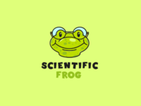 Scientific frog logo