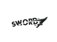 Sword logo concept