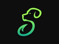 S+dog logo concept