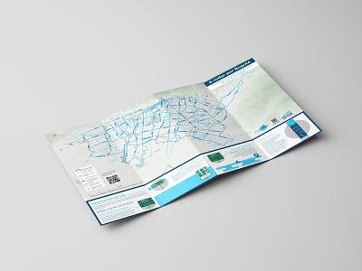 Mapa - Sistema de Navegación Ciclista de Bogotá ux cartography cyclist wayfinding map
