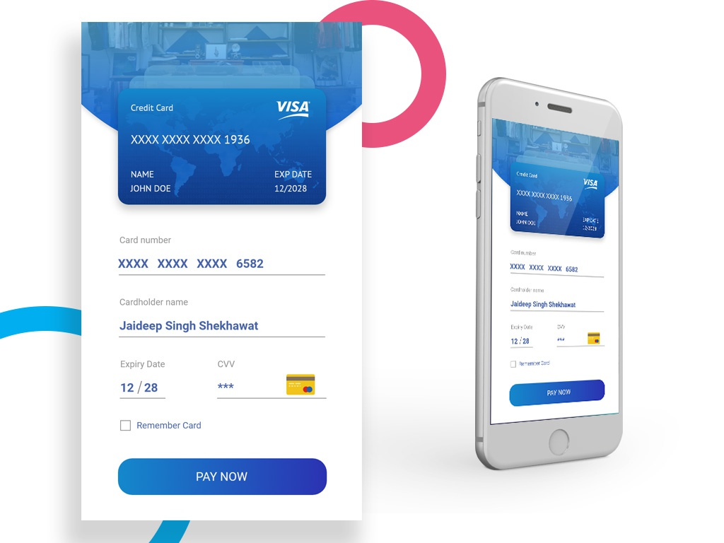 Daily UI 002 - Credit Card Checkout mobile dribbble app designers credit card form credit card checkout checkout page design app daily 100 user interface dailui ui design app design