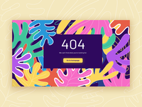 Daily UI 8 – 404 Page