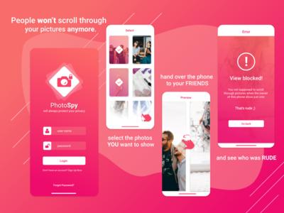 PhotoSpy App