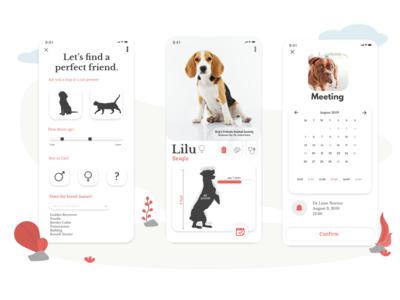 Pooch Pet Adoption App