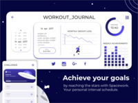 Workout App Interface