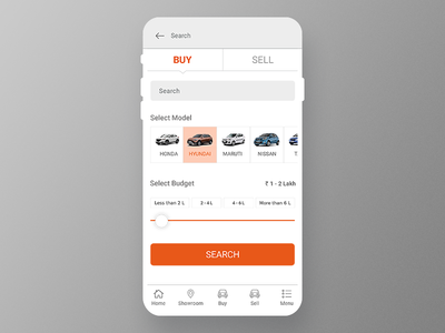 Car Search Filter