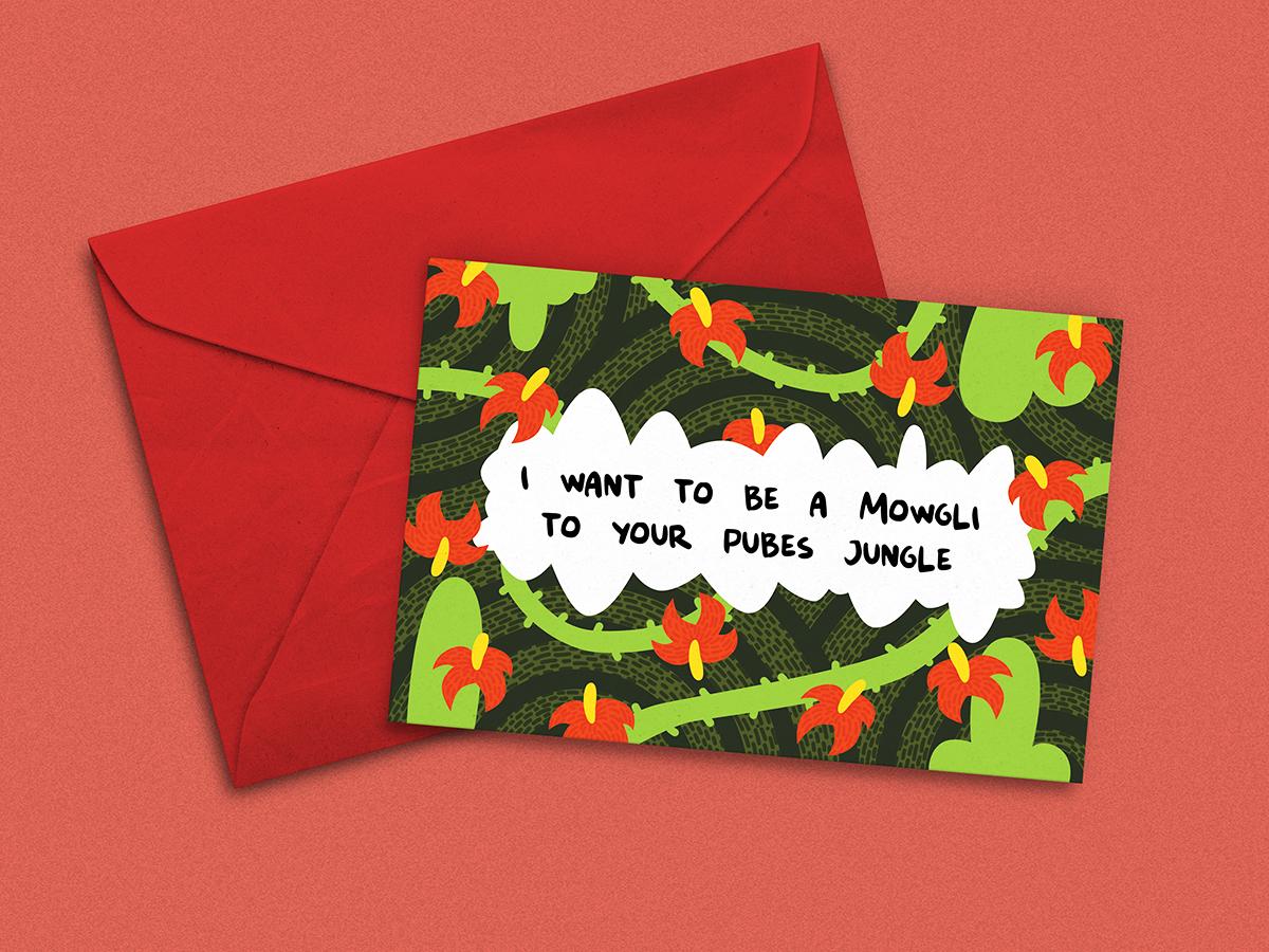 Saint Valentine's Day Postcard saint valentines day saint valentines postcard illustration design