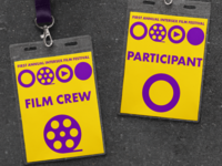 Badges For Intersex Film Festival