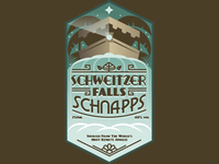 Schweitzer Falls Schnapps