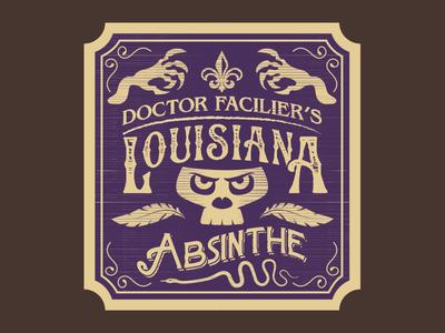 Dr Facilier's Louisiana Absinthe