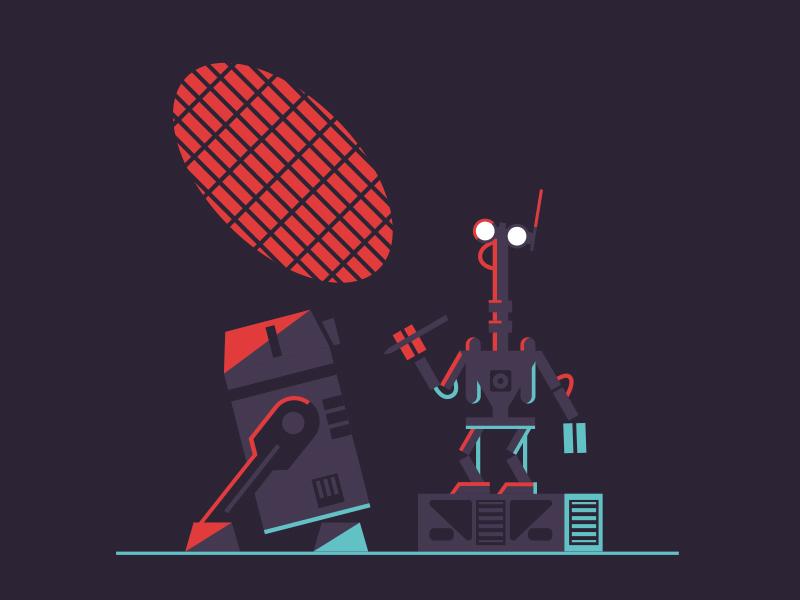 G2-9T illustration imagineering robot star tours disney star wars
